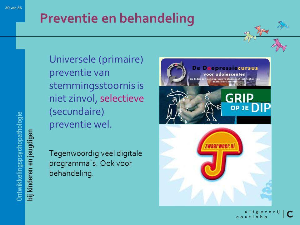 Preventie en behandeling