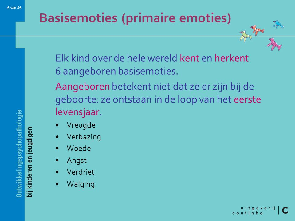 Basisemoties (primaire emoties)