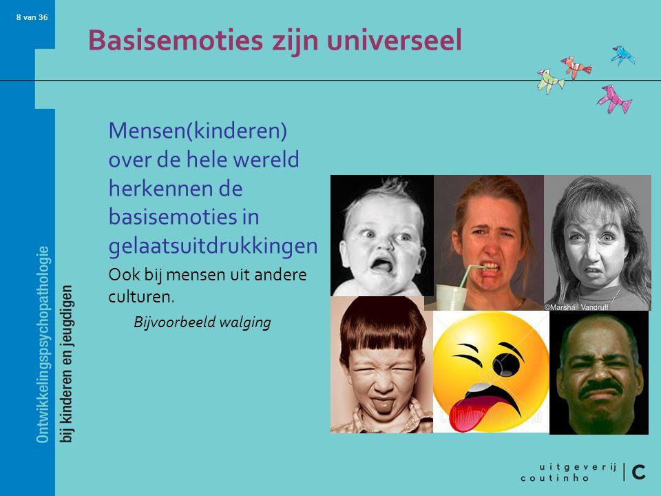 Basisemoties zijn universeel