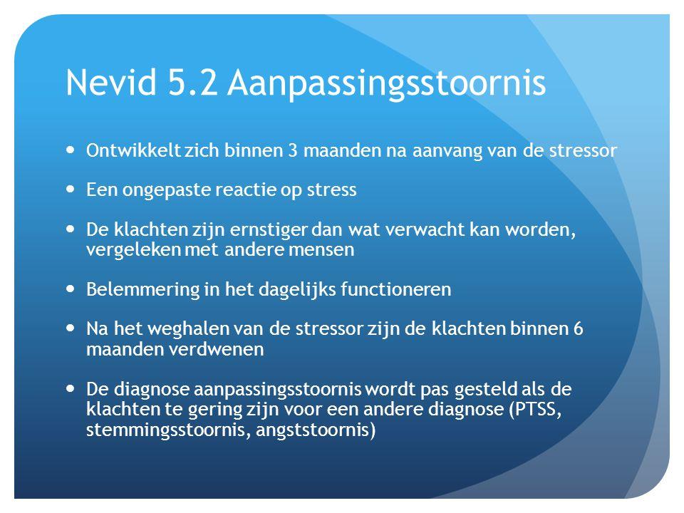 Nevid 5.2 Aanpassingsstoornis