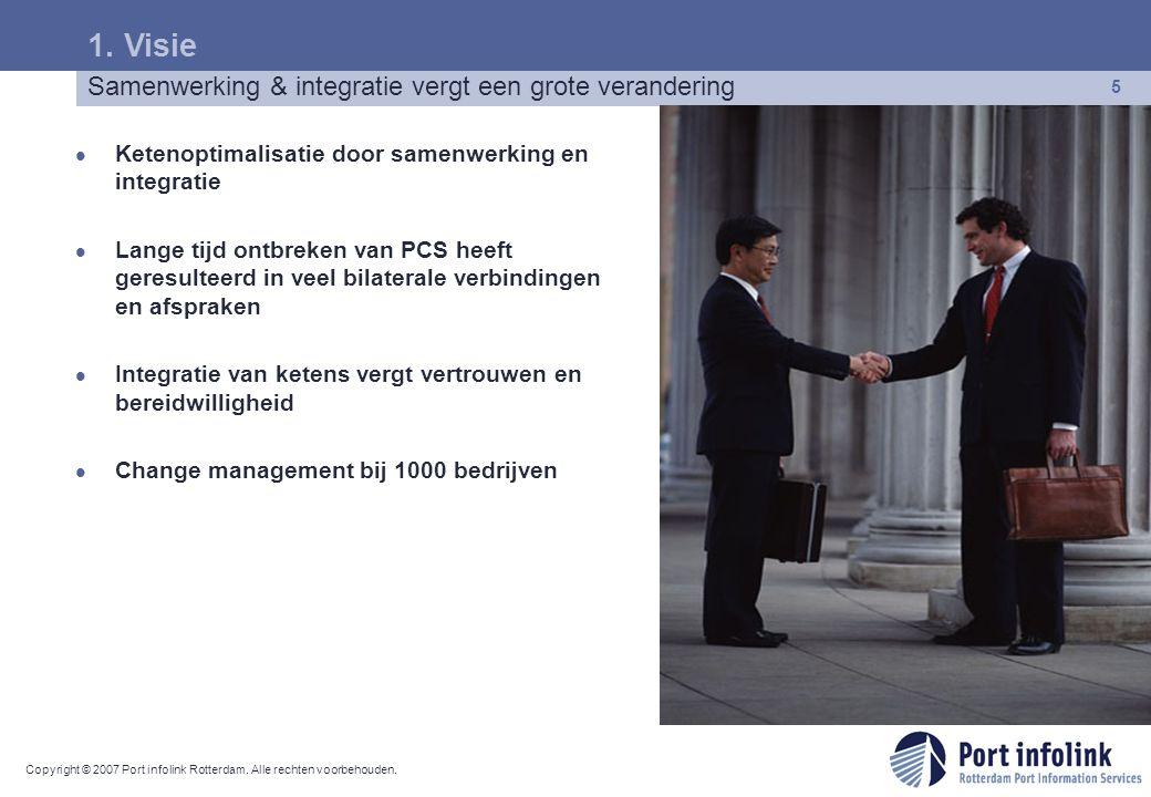 1. Visie Samenwerking & integratie vergt een grote verandering