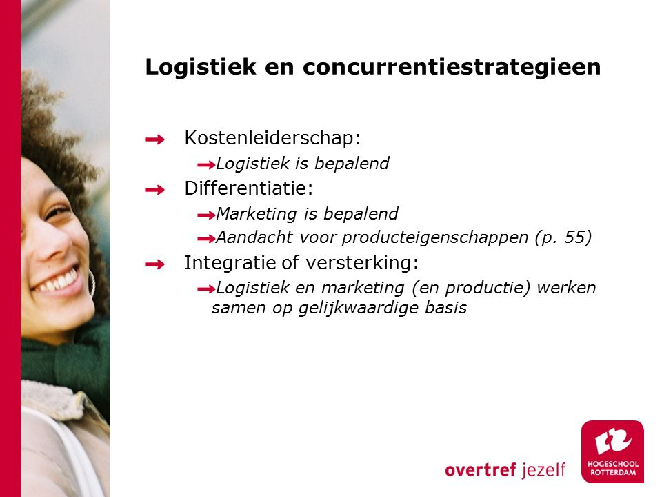 Logistiek en concurrentiestrategieen