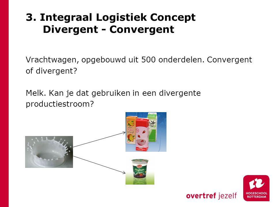 3. Integraal Logistiek Concept Divergent - Convergent