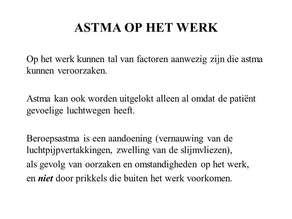Astma en werk de ziekte de oorzaken ppt download - Decoreer zijn kantoor op het werk ...