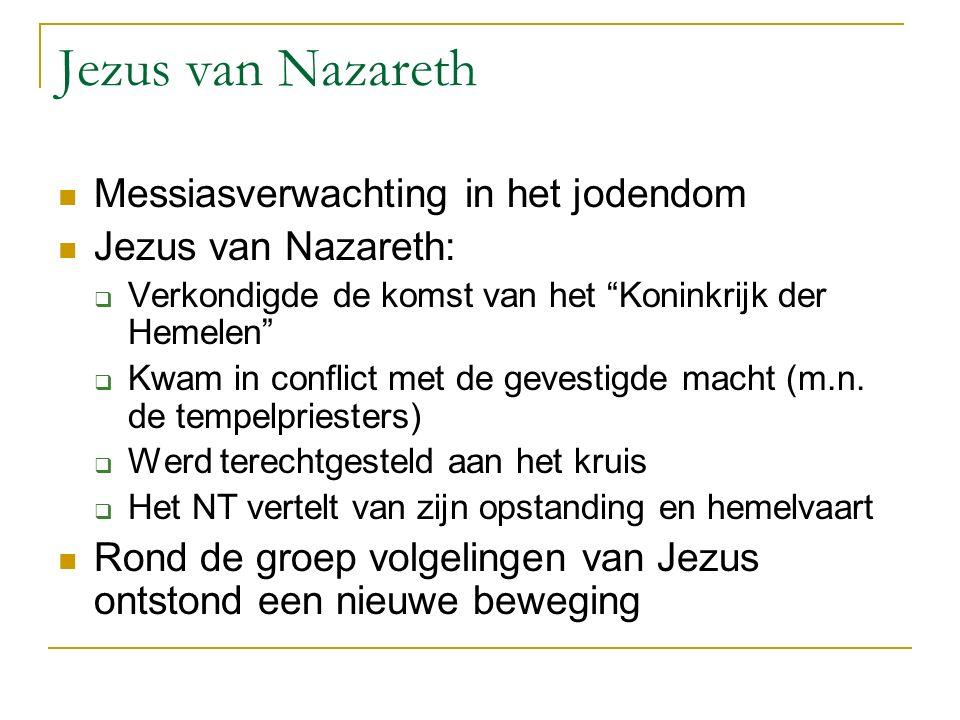 Jezus van Nazareth Messiasverwachting in het jodendom