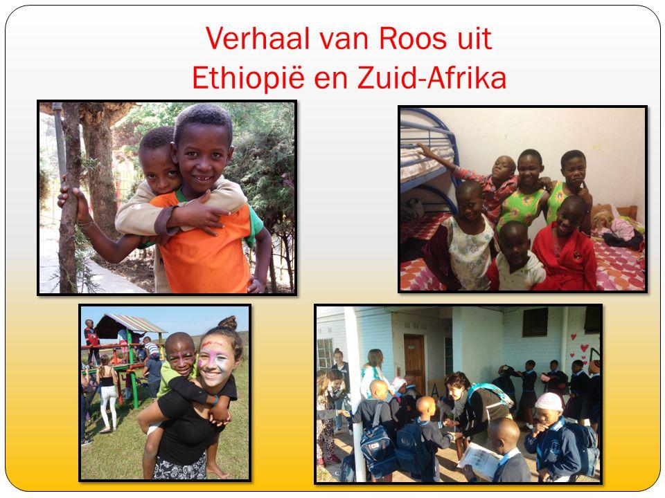 Verhaal van Roos uit Ethiopië en Zuid-Afrika