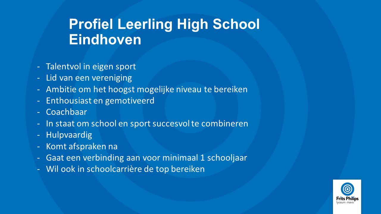 Profiel Leerling High School Eindhoven