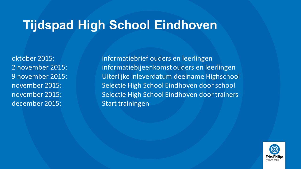 Tijdspad High School Eindhoven