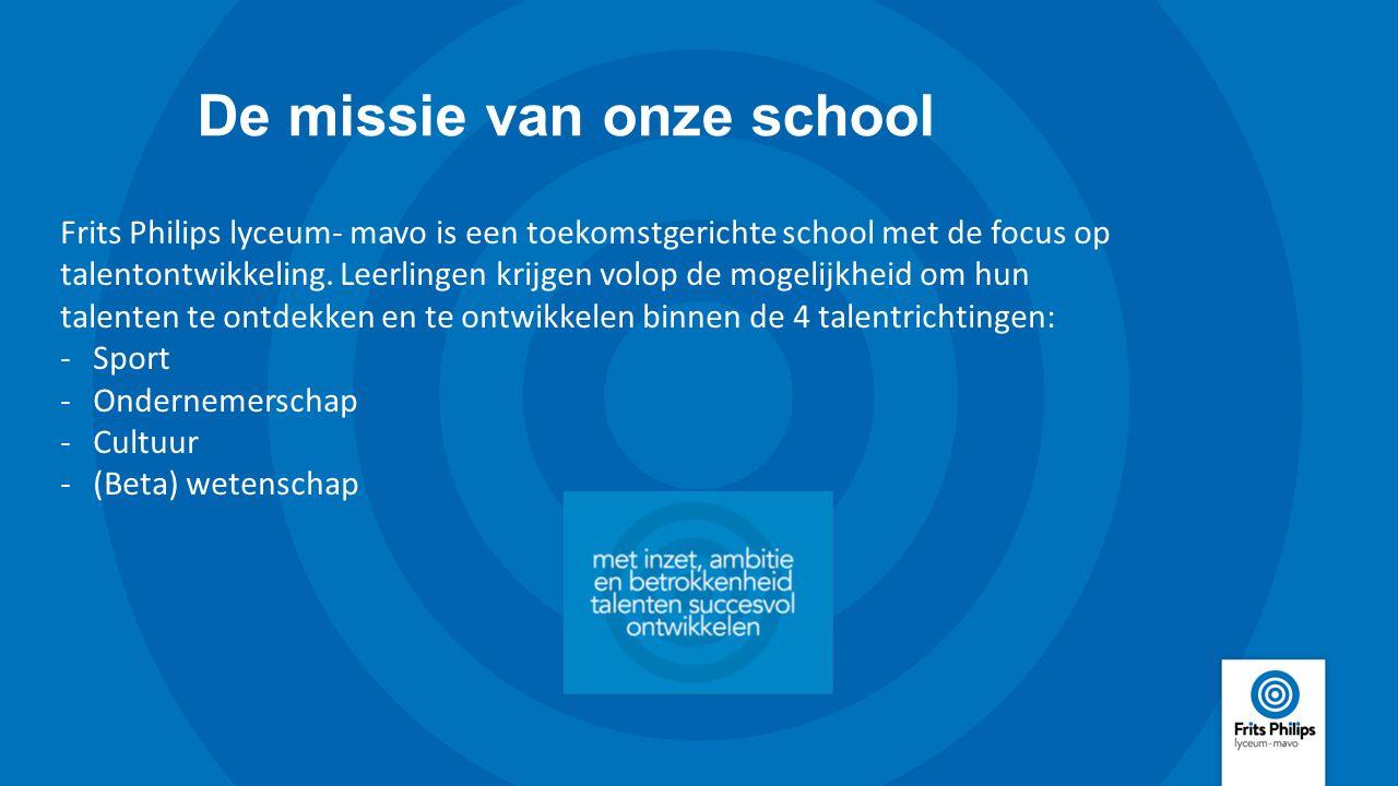 De missie van onze school