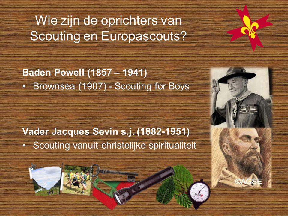 Wie zijn de oprichters van Scouting en Europascouts