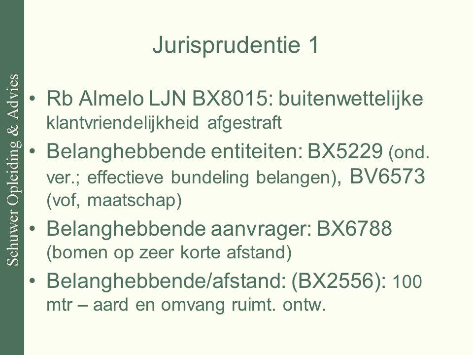 Jurisprudentie 1 Rb Almelo LJN BX8015: buitenwettelijke klantvriendelijkheid afgestraft.