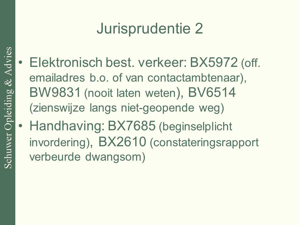 Jurisprudentie 2