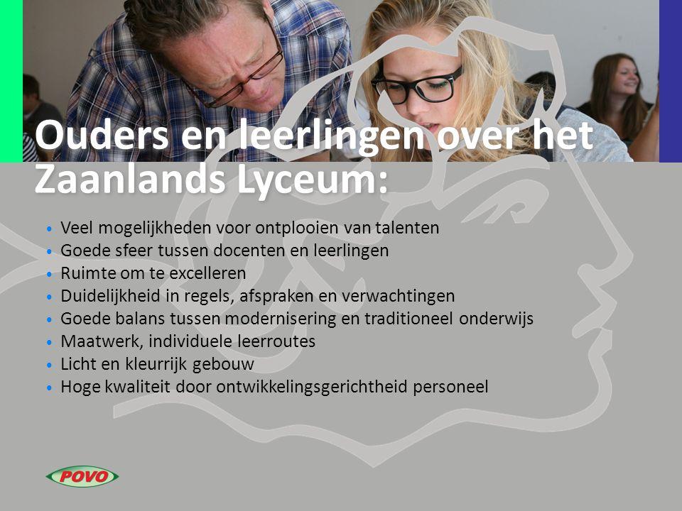 Ouders en leerlingen over het Zaanlands Lyceum: