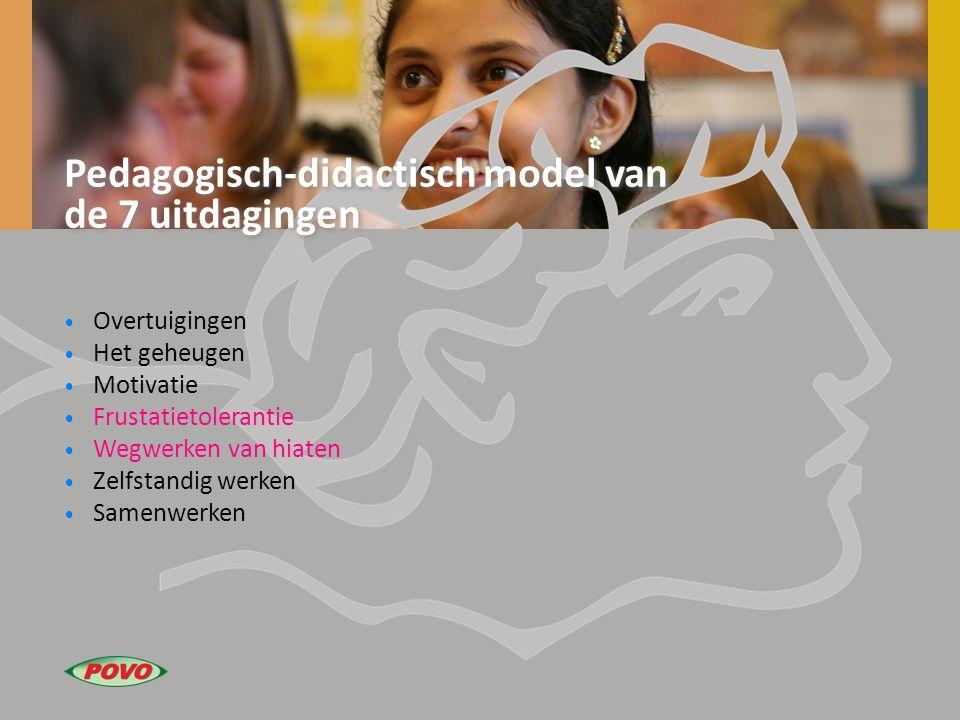 Pedagogisch-didactisch model van de 7 uitdagingen