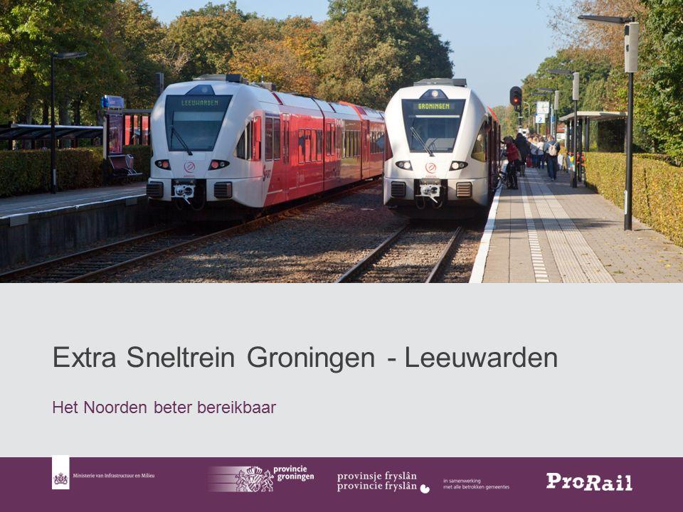 Extra Sneltrein Groningen - Leeuwarden