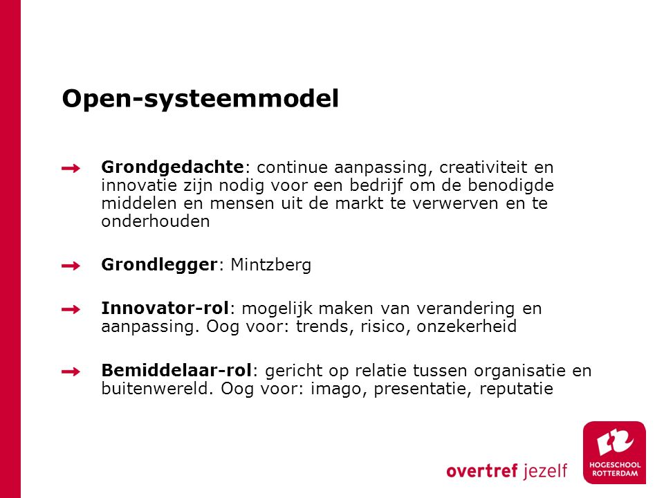Open-systeemmodel