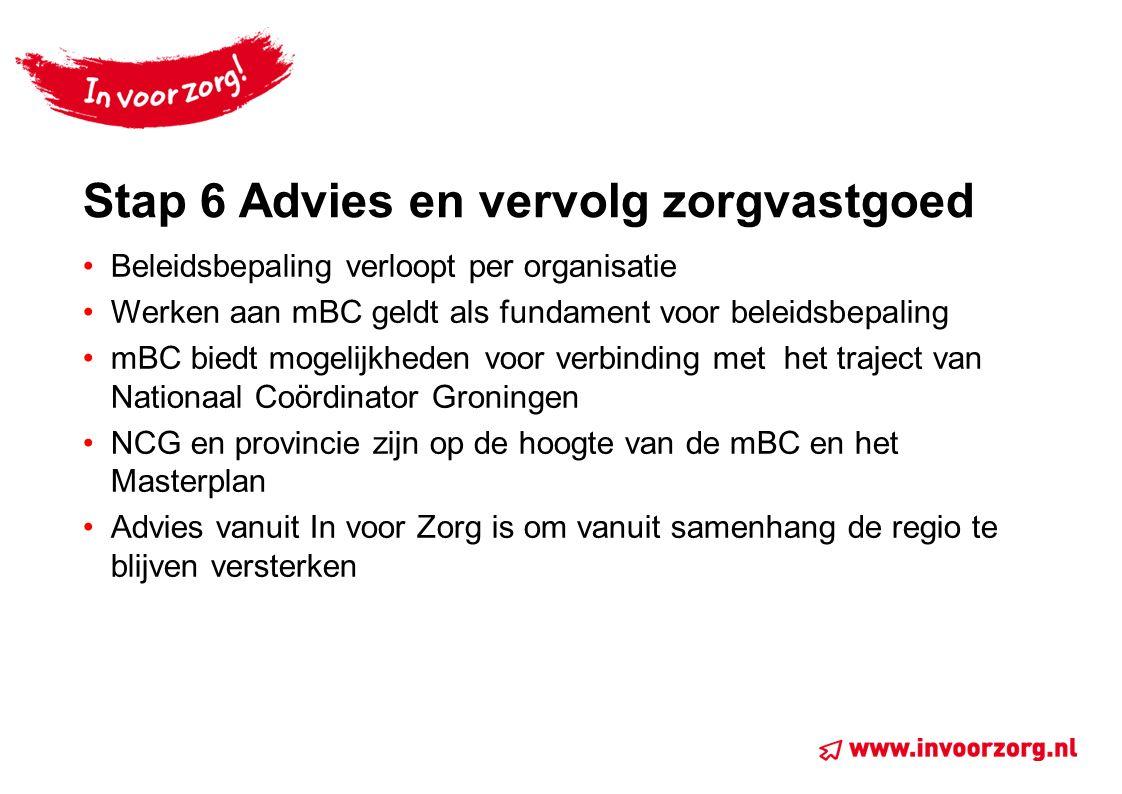 Stap 6 Advies en vervolg zorgvastgoed