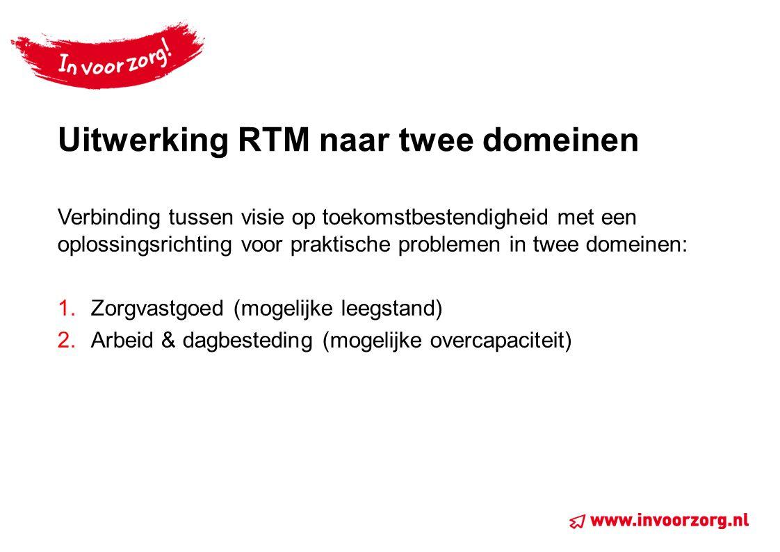 Uitwerking RTM naar twee domeinen