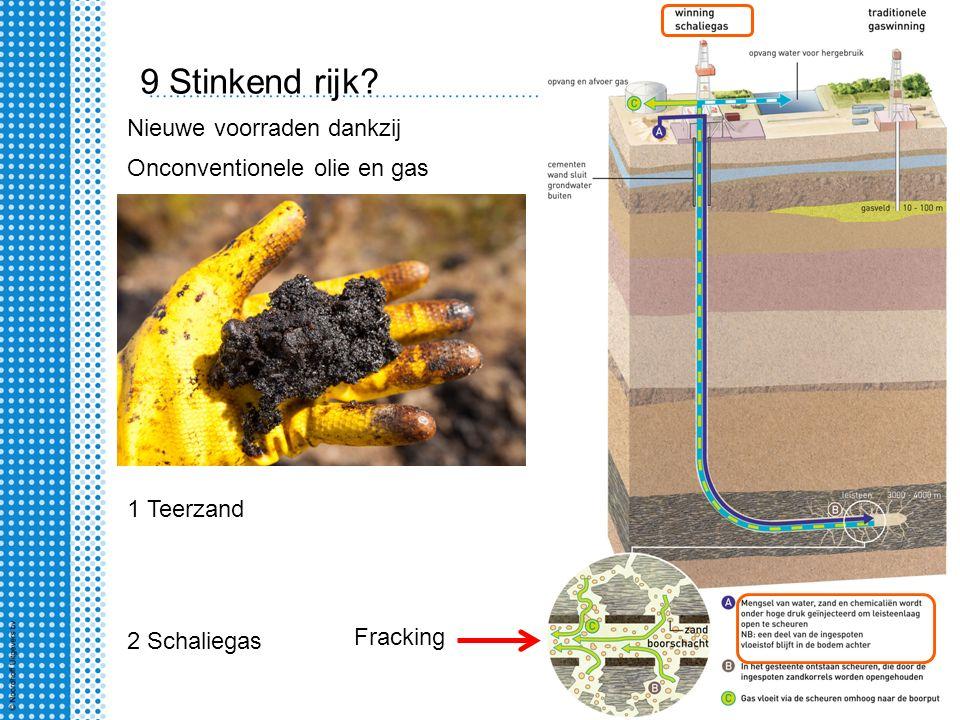 9 Stinkend rijk Nieuwe voorraden dankzij Onconventionele olie en gas