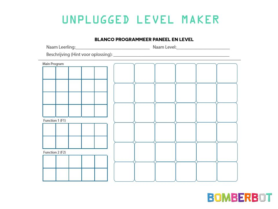 UNPLUGGED LEVEL MAKER