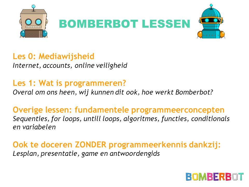 BOMBERBOT LESSEN