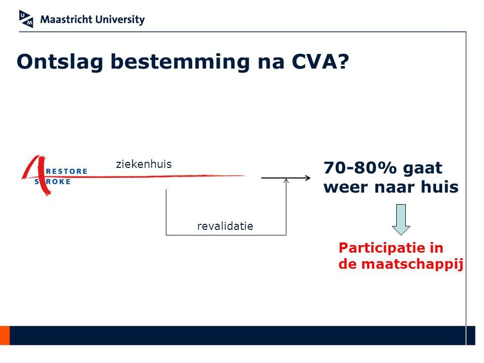 Ontslag bestemming na CVA