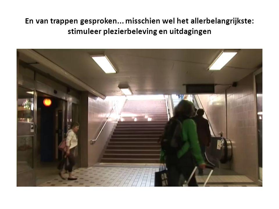En van trappen gesproken