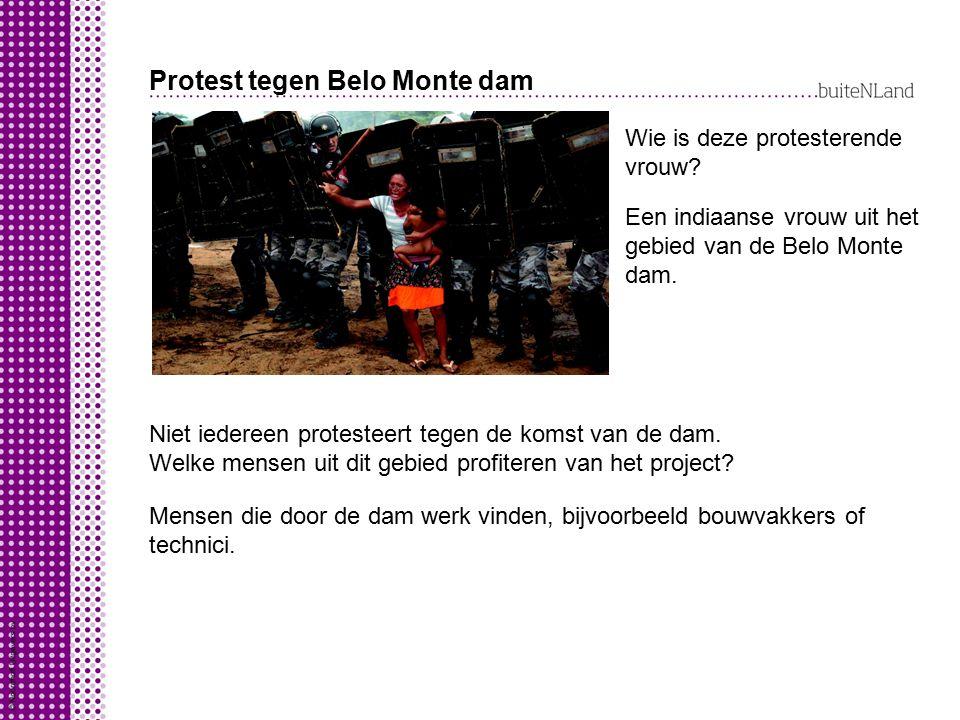 Protest tegen Belo Monte dam