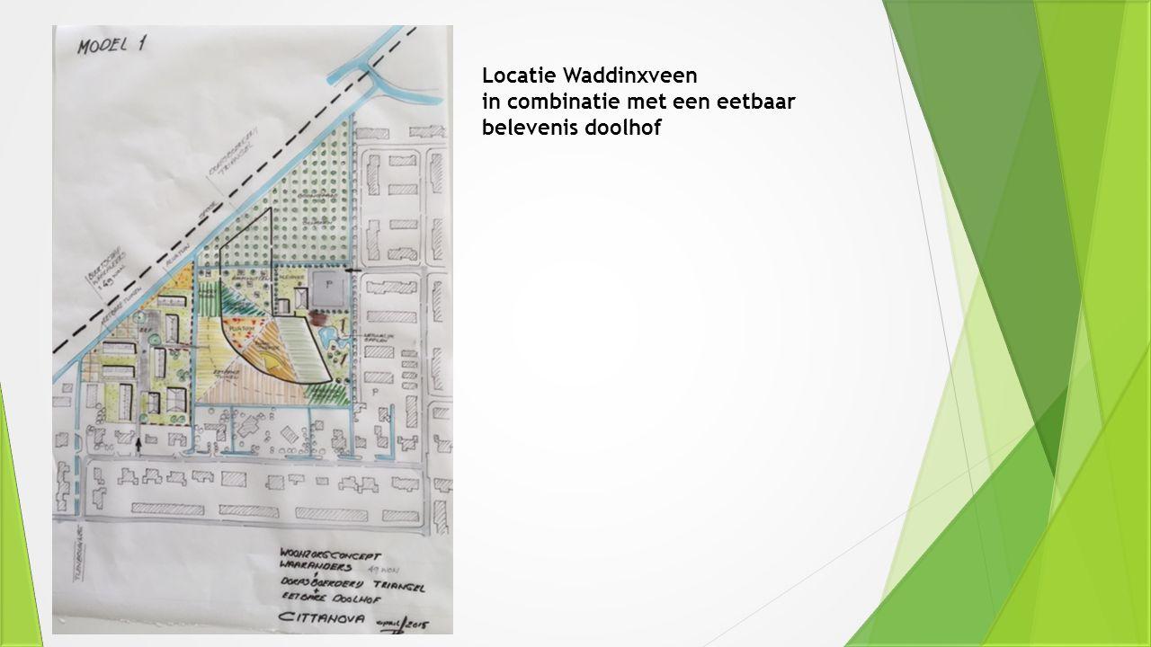 Locatie Waddinxveen in combinatie met een eetbaar belevenis doolhof