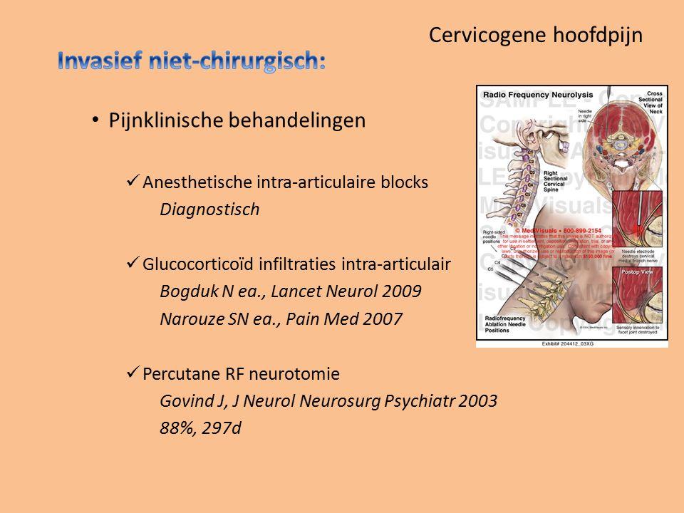 Cervicogene hoofdpijn