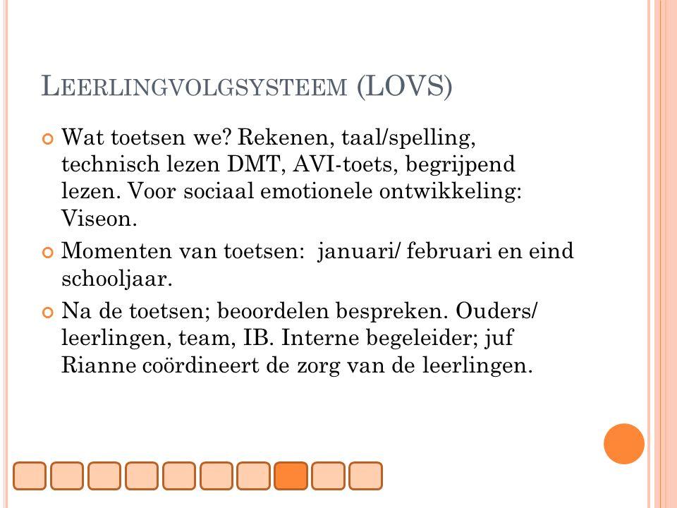 Leerlingvolgsysteem (LOVS)