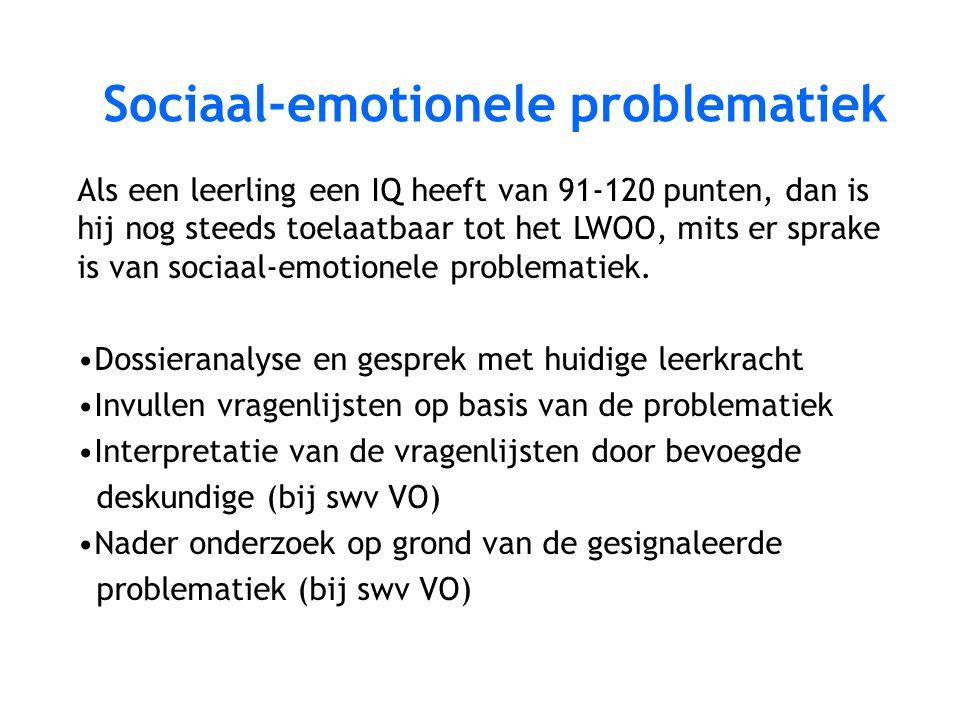 Sociaal-emotionele problematiek