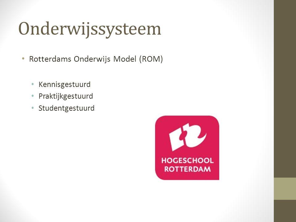 Onderwijssysteem Rotterdams Onderwijs Model (ROM) Kennisgestuurd