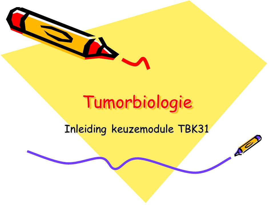 Inleiding keuzemodule TBK31