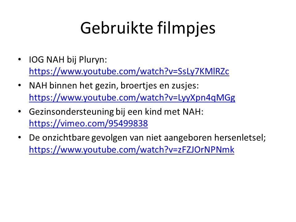 Gebruikte filmpjes IOG NAH bij Pluryn: https://www.youtube.com/watch v=SsLy7KMlRZc.