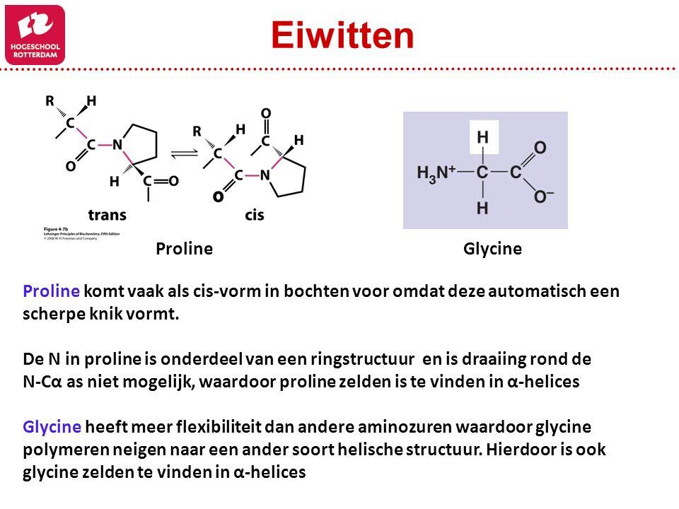 Eiwitten Proline Glycine