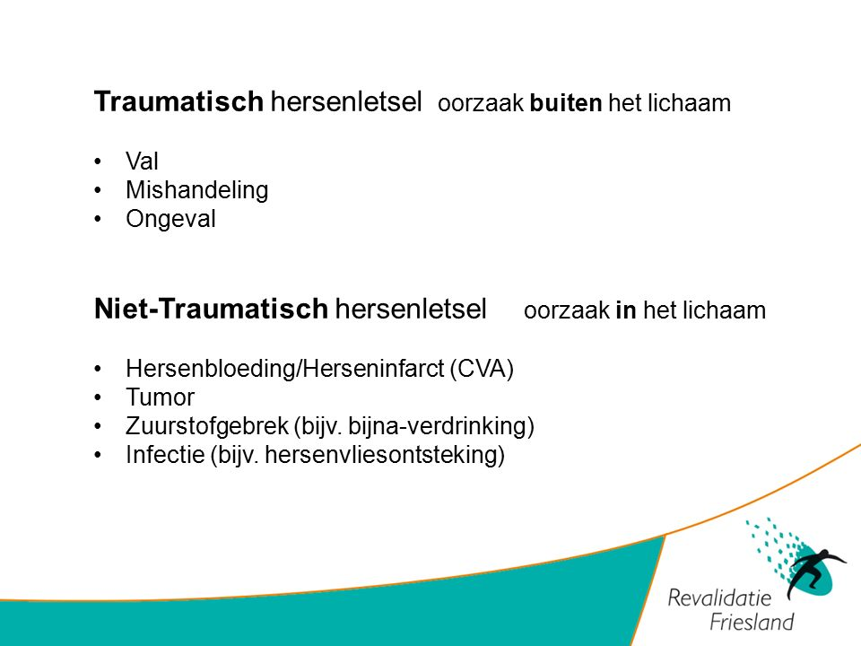 Traumatisch hersenletsel oorzaak buiten het lichaam