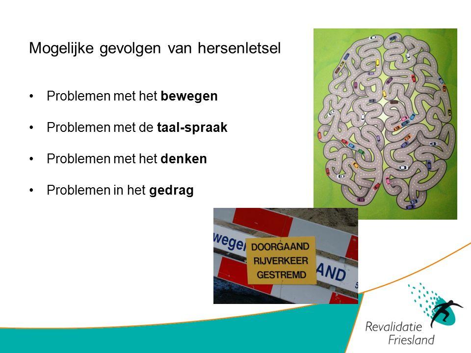 Mogelijke gevolgen van hersenletsel