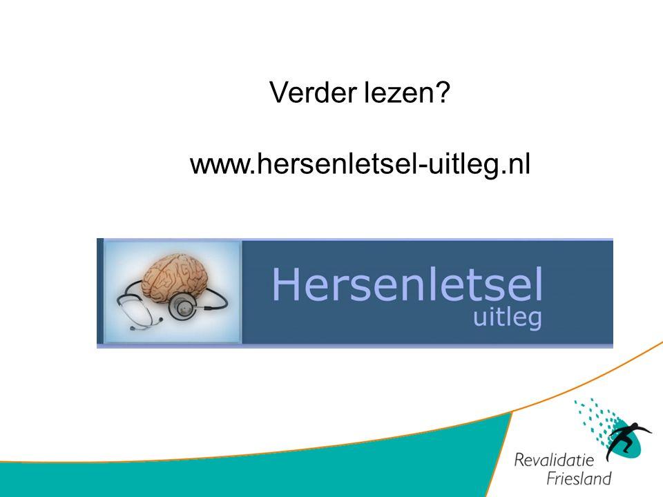 Verder lezen www.hersenletsel-uitleg.nl