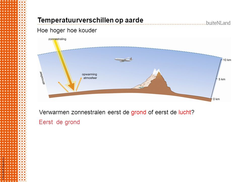 Temperatuurverschillen op aarde