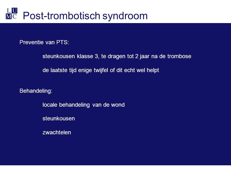 Post-trombotisch syndroom