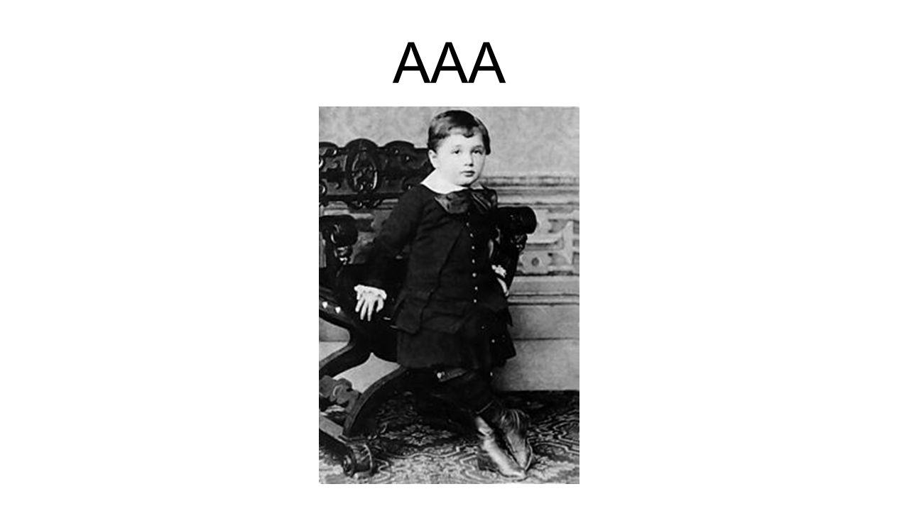 AAA Geboren 1879 in het Duitse Ulm. Een van de grootste natuurkundigen tot op heden, Nobelprijs 1921. Als kind van Joodse ouders verhuisde.