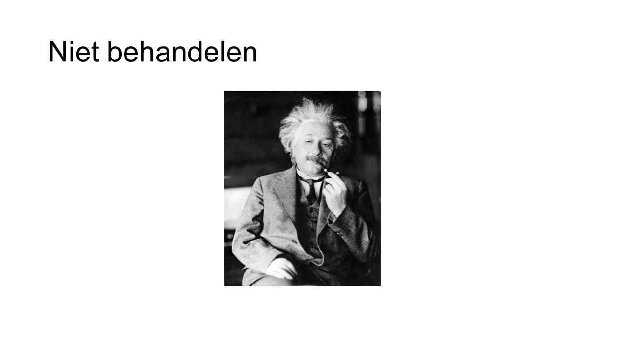 Niet behandelen Denk eraan en bespr. Einstein was een van de grootste denkers van de 20ste eeuw.