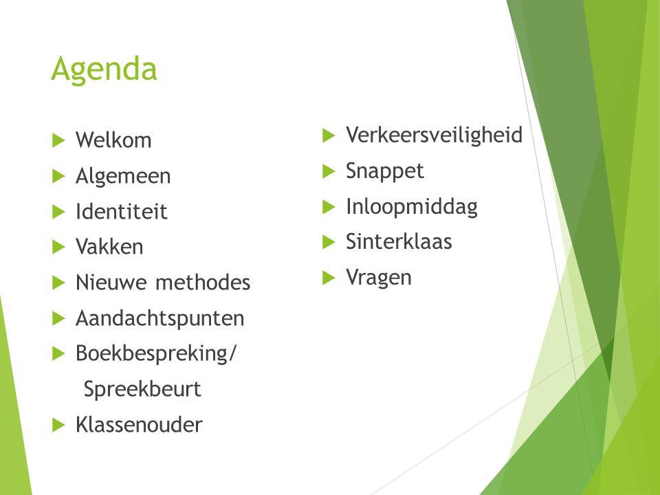 Agenda Verkeersveiligheid Welkom Snappet Algemeen Inloopmiddag