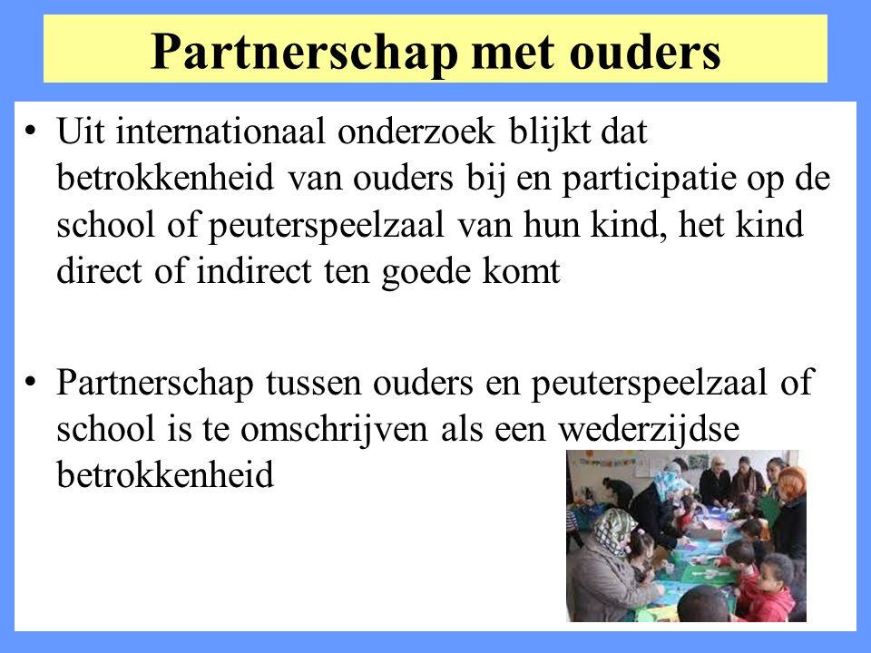 Partnerschap met ouders