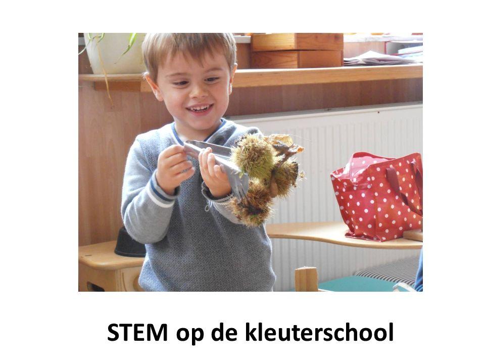 STEM op de kleuterschool