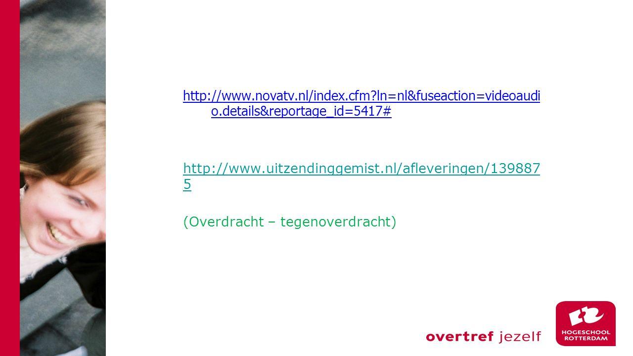 http://www. novatv. nl/index. cfm. ln=nl&fuseaction=videoaudio