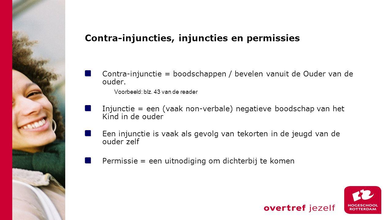 Contra-injuncties, injuncties en permissies