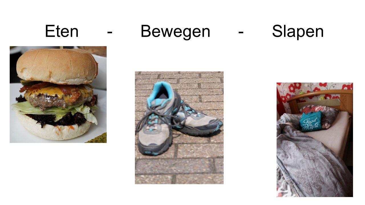 Eten - Bewegen - Slapen