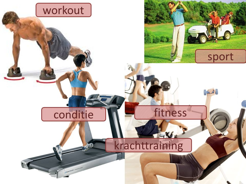 workout sport fitness conditie krachttraining